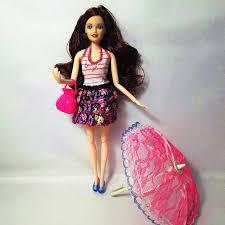 aliexpress buy fashion barbie doll bag toy umbrella