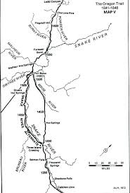 map of oregon springs oregon trail 101