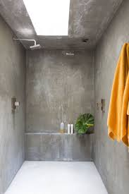 Best Tile For Basement Concrete Floor by Top 25 Best Concrete Shower Ideas On Pinterest Concrete
