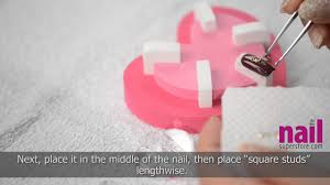 japanese nail art step by step how to tutorial video bling