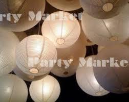How To Make Paper Light Lanterns - paper lantern etsy