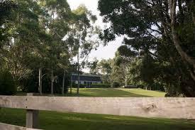 big backyard living modern in the country