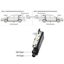 Vw Digitalradio Dab Antennen Splitter Weiche 6 5m Kabel Oem