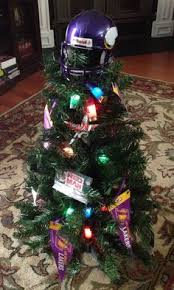 our half lsu half saints football tree topper made with a