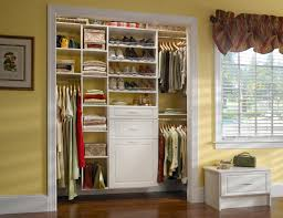custom closet design for home and office behind closed doors