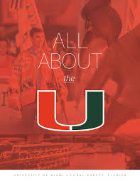 all about the u university of miami viewbook by university of
