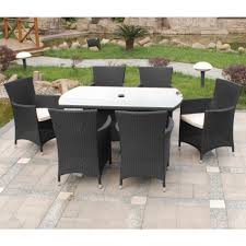 prepossessing weatherproof rattan garden furniture design ideas