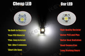 lexus gs430 hid bulb 2 x white 168 194 2825 hid 5 smd led bulbs for license plate