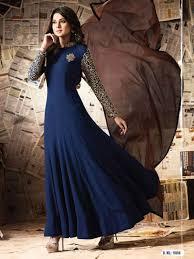 blue color indian designer wedding pakistani best party wear