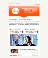 best free email newsletter design templates latest collection