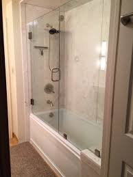 Bathtub Converted To Shower 1 Orem Bathroom Remodeling Shower Conversions Walk In Tubs