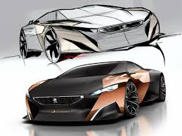 peugeot onyx interior sketch page 2