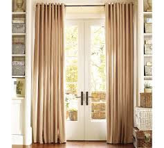 Smocked Burlap Curtains Decorating Mid Century Window Treatments Pb Teen Curtains