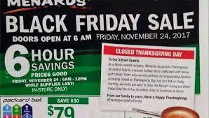 menards black friday 2017 ad leaks it breaking news