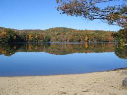 Massachusetts lakes images Ashfield ma ashfield lake in autumn photo picture image jpg
