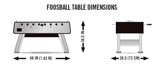 space needed for foosball table foosball table dimensions foosball zone
