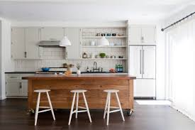 Kitchen Shelves Vs Cabinets Remodeling 101 Shaker Style Kitchen Cabinets Remodelista