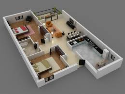 Home Design For 3 Room Flat Interior Design For 3 Bed Room 25 More 3 Bedroom 3d Floor Plans