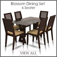 6 seater dining table and chairs 6 seater dining set six seater dining table and chairs furniture
