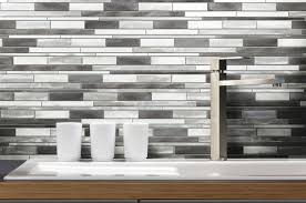 awesome self adhesive kitchen metal wall tiles elida ceramica