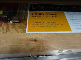 Wood Laminate Flooring Costco Harmonics Honey Maple Laminate Flooring