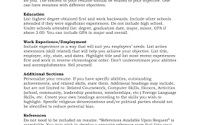 resume examples with references how to list references for job