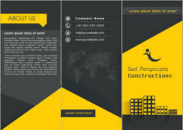 3 fold brochure template psd free 40 professional free tri fold brochure templates word psd