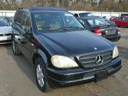1999 mercedes ml 430 auto auction ended on vin 4jgab72e8xa078610 1999 mercedes