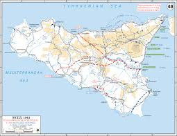 Map Of Sicily And Italy by Printable Map Of Sicily Printable Maps