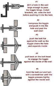 Install Heavy Duty Shelf Brackets In Concrete The Homy Design - illustrated wall anchors chart and installation do it yourself
