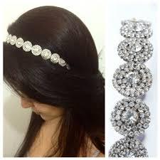 headband comprar tiara noiva strass prata frete grátis noivas elo7