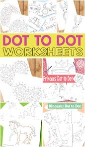 printable dot to dot worksheets for kids itsy bitsy fun