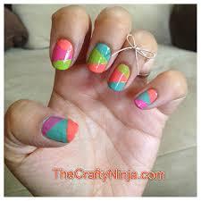 diy nail art with tape u2013 slybury com