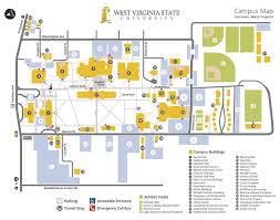 Show Me A Map Of West Virginia west virginia state university campus map