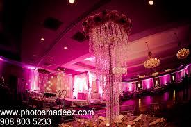 Indian Wedding Planners Nj Wedding Decor At Indian Wedding Reception At Sheraton Parsippany