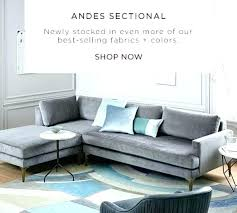 west elm andes sofa review west elm andes sofa 4 piece sectional autoinsuranceny club