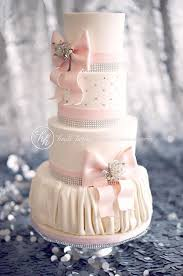 gold u0026 pink wedding cake by cakelava picmia