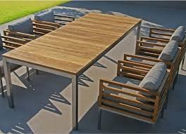 Teak Outdoor Dining Table And Chairs Modest Design Outdoor Dining Table Chairs Recycled Teak Outdoor