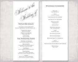 winter wedding programs winter wedding program template snowflake wedding