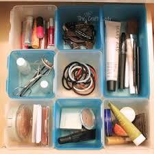 Bathroom Makeup Organizers 150 Diy Dollar Store Organization And Storage Ideas Prudent