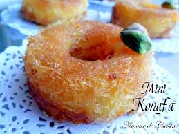 un amour de cuisine chez soulef mini konafa ktayefs a la creme dessert ramadan 2017 amour de cuisine