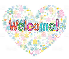 welcome back decorative lettering text stock vector art 514388980