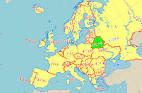 ベラルーシ:ベラルーシ地図