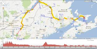 Trans Canada Highway Map by Audax Vermont Pt 3 Trans Canada Trail Vt To Pei