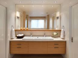 Bathroom Wall Mirror Ideas by Bathroom Vanity Makeover Ideas Rectangle Frame Glass Wall Mirror