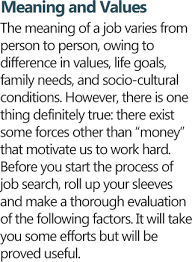 y e s search tips choosing career meaning of work y e s