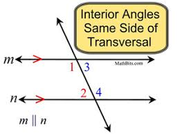 Same Side Interior Angles Postulate Angles And Parallel Lines Mathbitsnotebook Geo Ccss Math