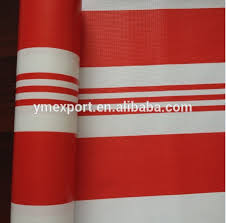 Red And White Striped Awning Red White Striped Vinyl Fabric Red White Striped Vinyl Fabric