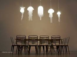 Unique Chandeliers Dining Room Unique Lighting Fixtures Inspired By Jellyfish From