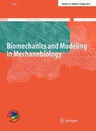 biomechanics and modeling in mechanobiology springer latex